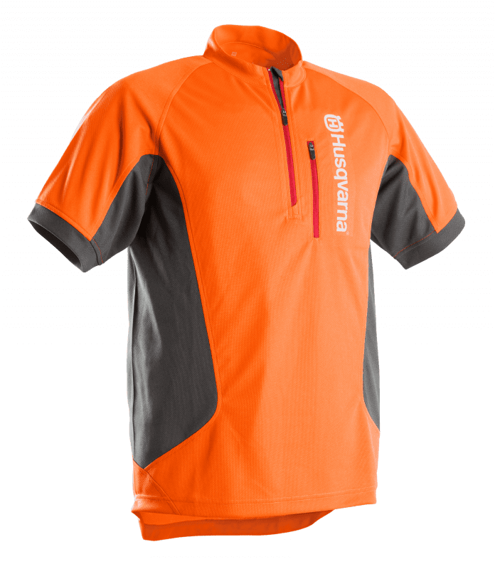 Werk T shirt met korte mouwen, Technical