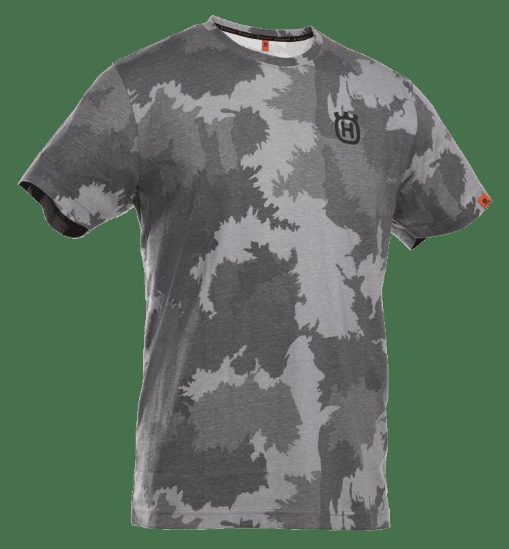 Xplorer T-shirt korte mouw unisex forest camo