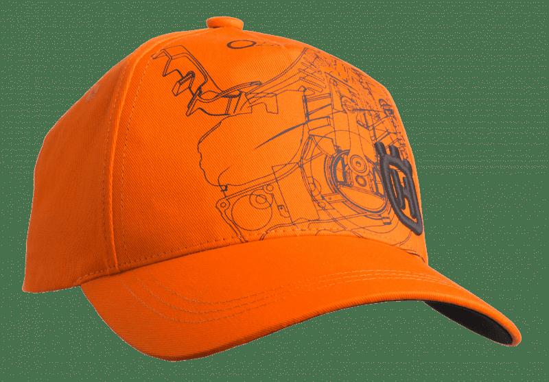 Xplorer Cap pionier zag oranje