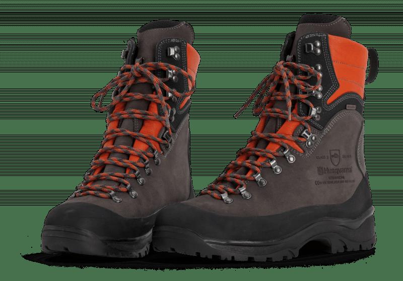 Beschermende lederen laarzen met zaagbescherming Technical 24 m/s