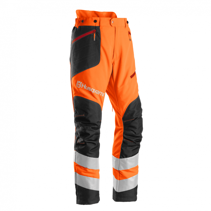Brushcutting- and trimmer trousers, High Viz