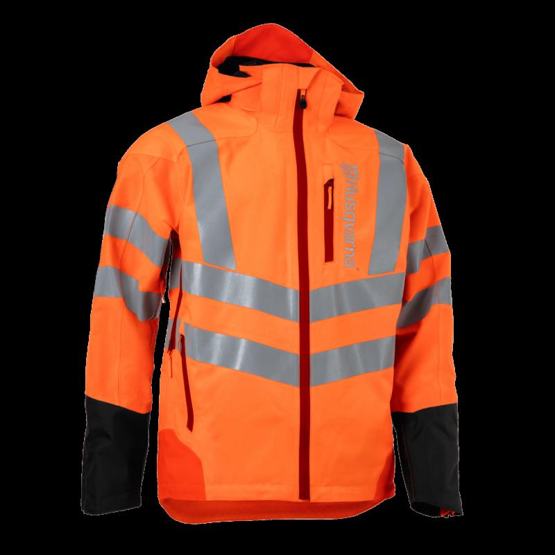 Rain Jacket Vent High-Viz, Technical