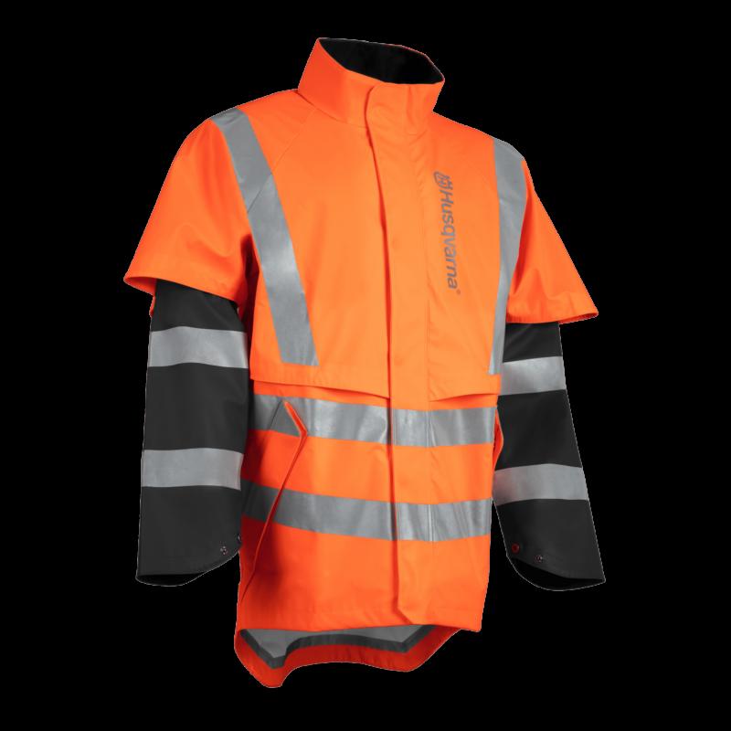 Rain Jacket Protect High-Viz, Functional